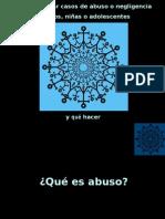 Como Detectar Abuso de Ninos