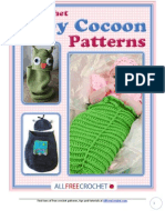 11 Baby Crochet Cocoon Patterns