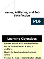 Value ,Attitude& Satisfaction