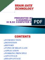 Brain Gate Technology