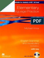 Elementary Language Practice 3rd Edition by Michael Vince (2010).PDF.rar