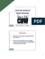 Lap Ke Hoach Hinh Doanh
