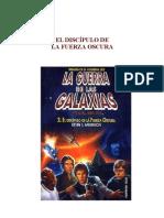 Anderson, Kevin J. - Star wars - La nueva república - Trilogía de la academia jedi 2 - El discípulo de la fuerza oscura.doc