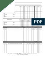 Census Record Form