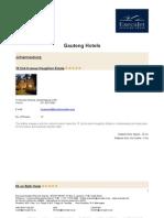 Hotels - Gauteng