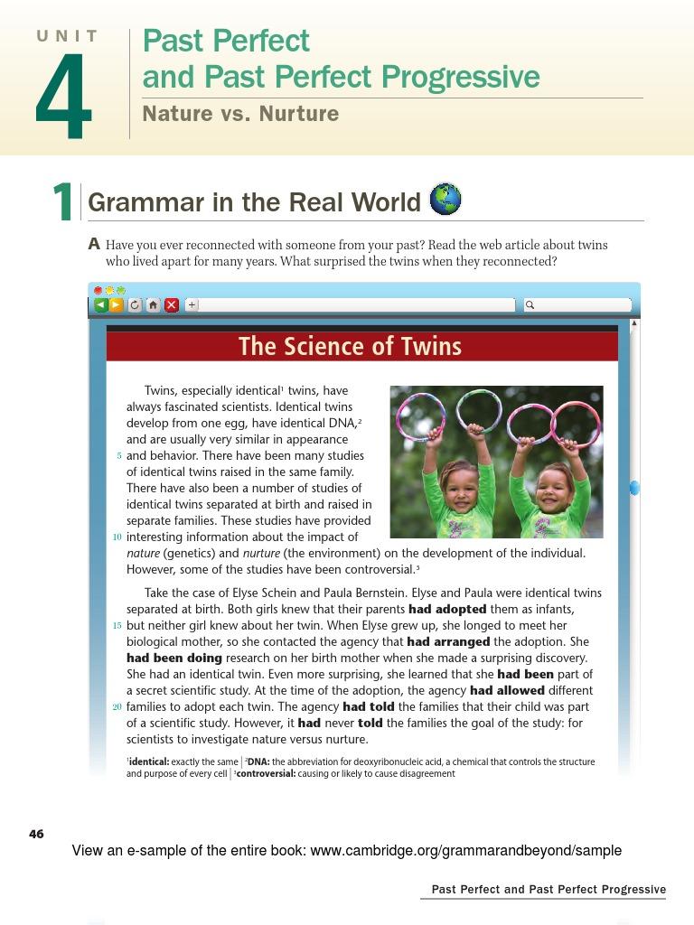 Nature Vs Nurture Articles Twins