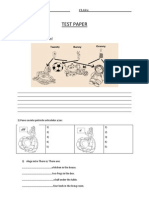 0 0 Test Paper Clasa a 3a