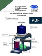 Tech-sheet.sistema Deparador Agua - Aceite