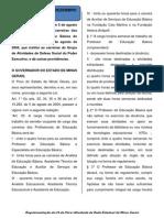 LEI 20592-12 - CARREIRAS DA EDUCAÇÃO JORNDA DE TRABALHO