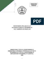09 -- KODE -- 02 - B7 Monitoring Pelaksanaan SNP Dan Akreditasi Nasional
