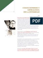 Adolfo Vazquez Rocca. Coleccionismo