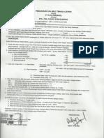 Contoh Perjanjian Jual Beli PLN Taman Siswa Bungo