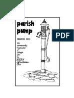 Parish Pump March 2013