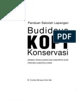 Budidaya Kopi Konservasi indonesia