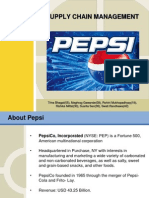 35492024 Supply Chain Management Pepsi