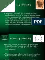 Gandhian Philosophy of Trusteeship