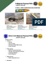 25 MM Anti-Material Rifle XM-109