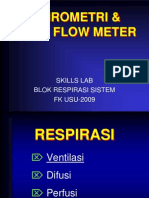 skills lab spirometri & peak flow meter