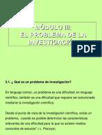 MÓDULO III Metodología de la investigación