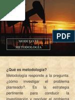 MODULO VI Metodología de la investigación