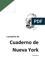 Analisis Cuaderno de Nueva York de José Hierro