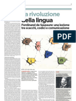 Ferdinand de Saussure una lezione tra scacchi, codici e comunicazione - L'Unità 24.02.2013