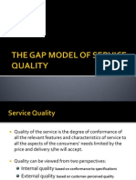 Gap Model Ppt