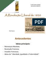 ~Powerpint 1 Revolucao Liberal de 1820