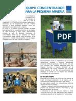 Brochure, Concentrador Falcon M- iCON