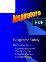 Respirator requirements
