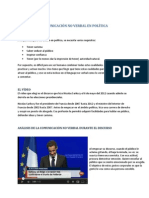 COMUNICACIÓN NO VERBAL EN POLÍTICA. Sarkozy, por Anne-Laure Brugallé