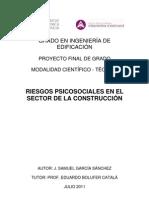 Garcia, S - Riesgos Psicosociales en El Sector de La Constru