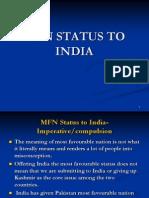MFN status to india.ppt