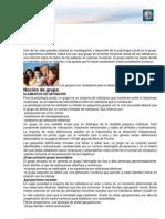 Lectura 14 - El Grupo