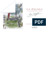 Homero - Odisea (Ilustr. Chagall)