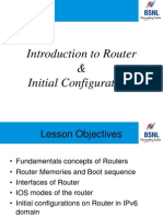3 Router Basics and Inital Configurations