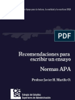 Normas-APA para la redacción de ensayo
