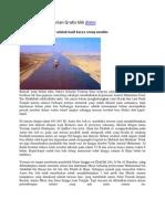 Ternyata Terusan Suez Adalah Hasil Karya Orang Muslim