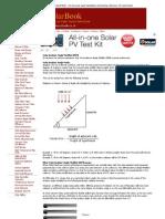 Solar Panels Ireland Book - On-Line Solar Panel Installation and Training Reference- UK and Ireland