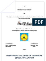 Coca Cola ( Consumer Buying Behaviour) (2)