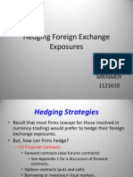 Hedging Foreign Exchange Exposures