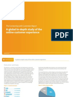 The Connecting With Customers Report - A global in-depth study of the online customer experience