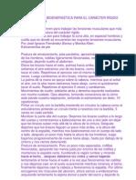 EJERCICIOS DE BIOENERGÉTICA PARA EL CARÁCTER RÍGIDO diciembre 5