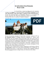 Tourist Attractions From Romania