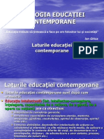 4.TIPOLOGIA EDUCATIEI CONTEMPORANE