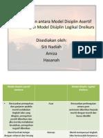 Perbandingan Model Disiplin Canters Dengan Dreikurs