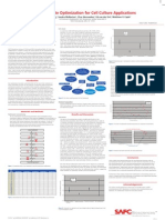 SAFC Biosciences Scientific Posters - Soy Hydrolysate Optimization for Cell Culture Applications