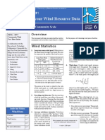 RERL Fact Sheet 6 Wind Resource Interpretation