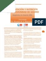 Alimentacion y Nutrición en la Comunidad de Madrid