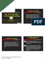 10 Principles of material handling